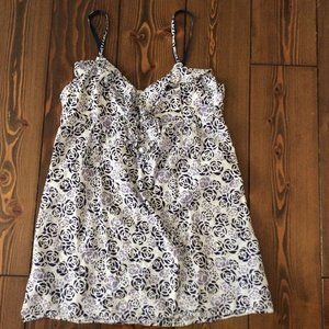 3/$15: Banana Republic M 100% Cotton Chemise Nightgown Dress